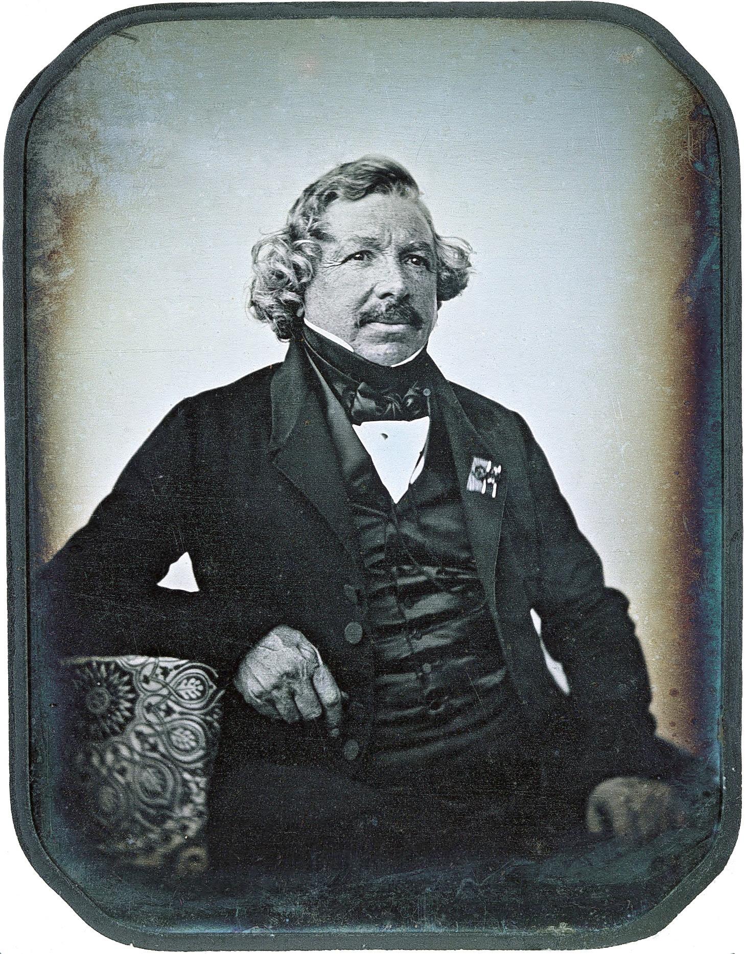 1844. Дагеротипный портрет Дагера