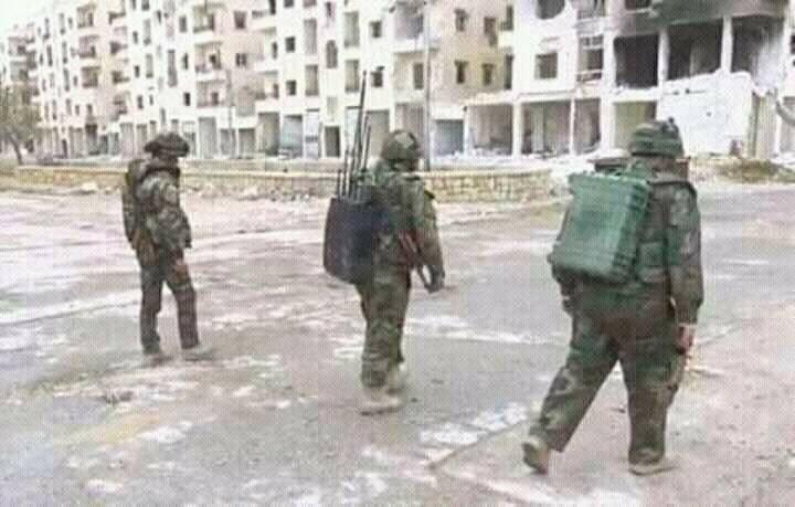 Испытания в боевых условиях новой военной техники в Сирии
