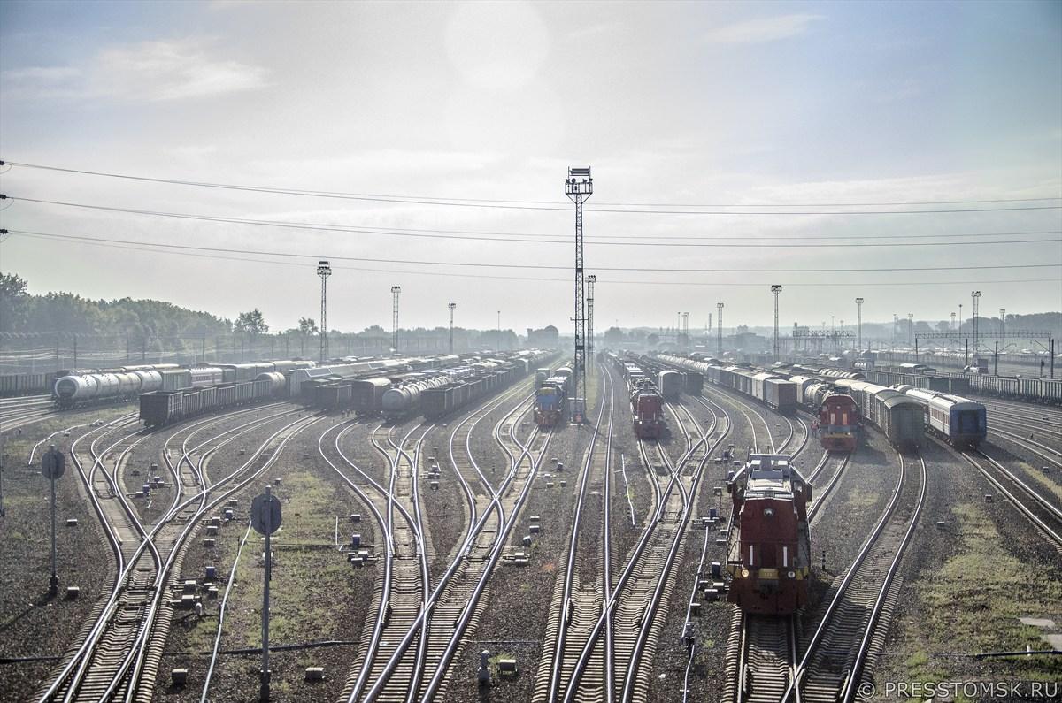 Трейнспоттинг на сортировочной станции Инская ЗСЖД