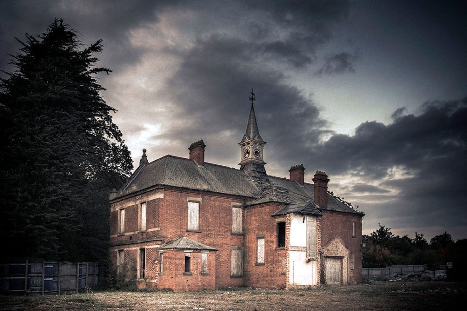 Заброшенная психиатрическая клиника в Великобритании