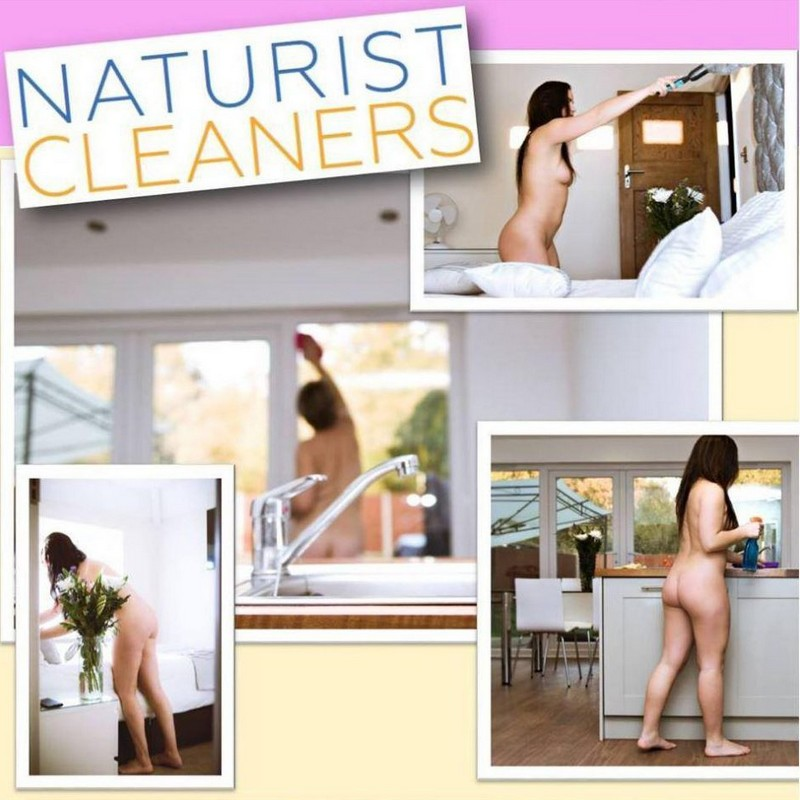 Фирма по уборке голышом ищет сотрудниц