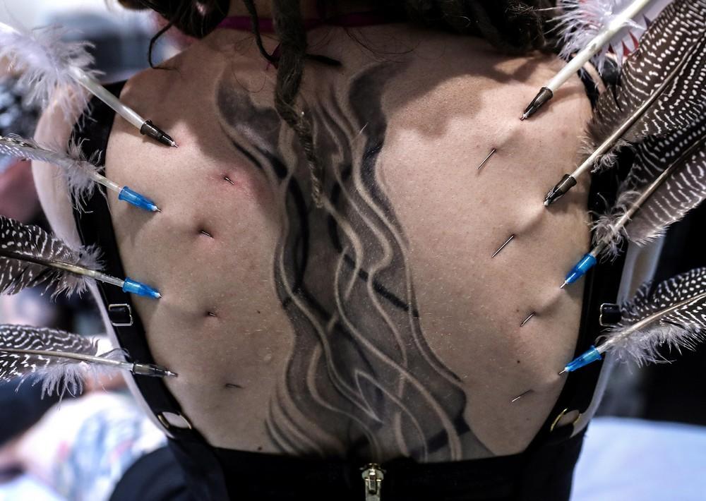 Фестиваль татуировки в Москве