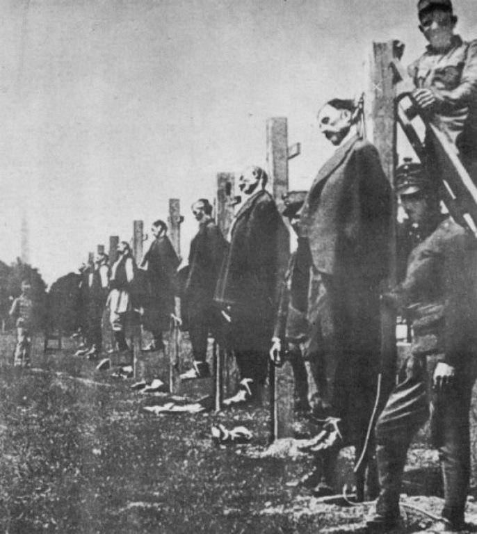 Казнь сербов, 1915