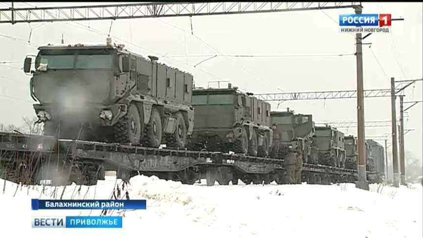 "Поступление бронированных автомобилей К-63968 ""Тайфун-К"" в Нижегородскую область"