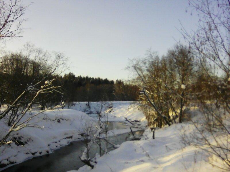 Река Береза.