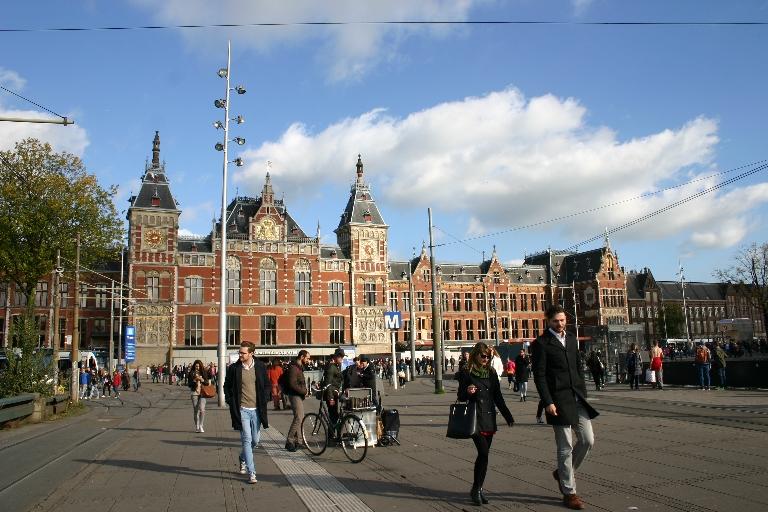 Амстердам, центральный вокзал