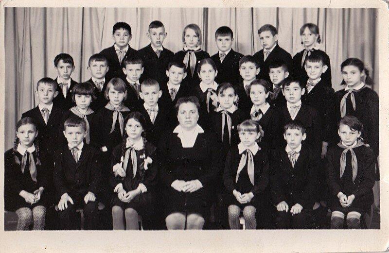 Славгород, школа №13 1971 год.
