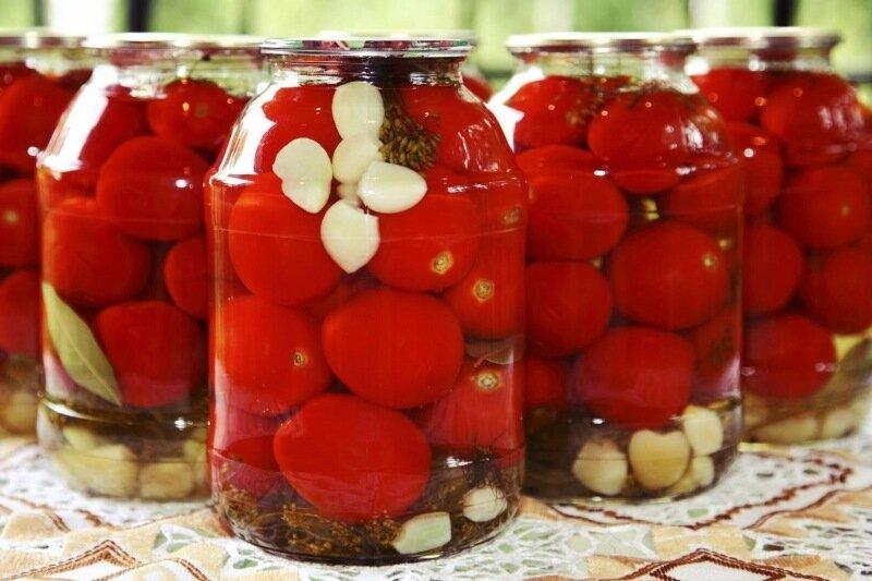 Секретный рецепт приготовления нежных помидоров