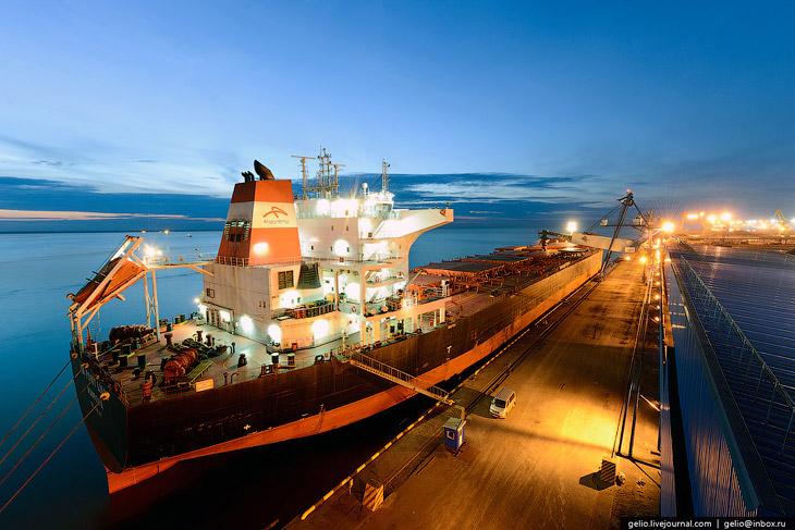 Фотографии и текст Славы Степанова   Восточный — крупнейший порт на Дальнем Востоке России .