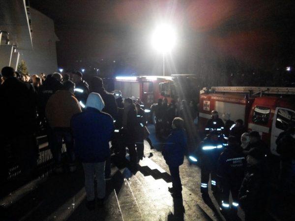 Пожар произошел вночном клубе Львова