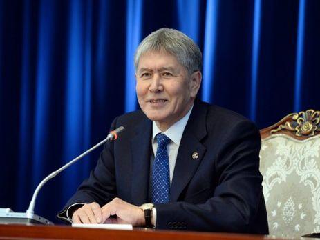 Президент Киргизии ушел вотпуск на неизвестный срок