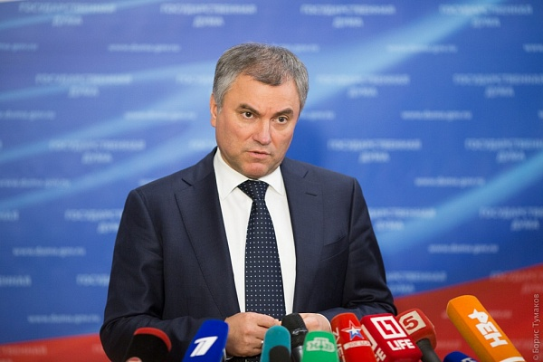 Володин поведал окандидате впрезиденты в 2018г.