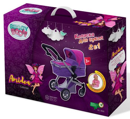 коляска кукольная buggy boom 8565