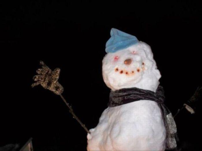 Очень грамотный снеговик