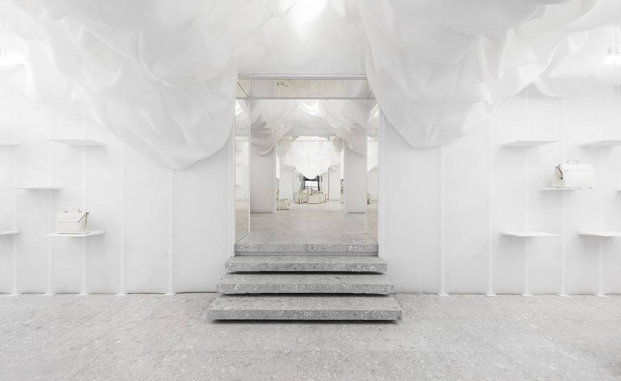 All White Shop Reimagined by Snarkitecture (4 pics)
