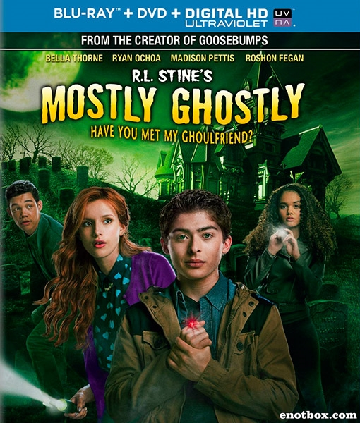 Небольшое привидение: Вы знакомы с моим другом вурдалаком? / Mostly Ghostly: Have You Met My Ghoulfriend? (2014/BDRip/HDRip)