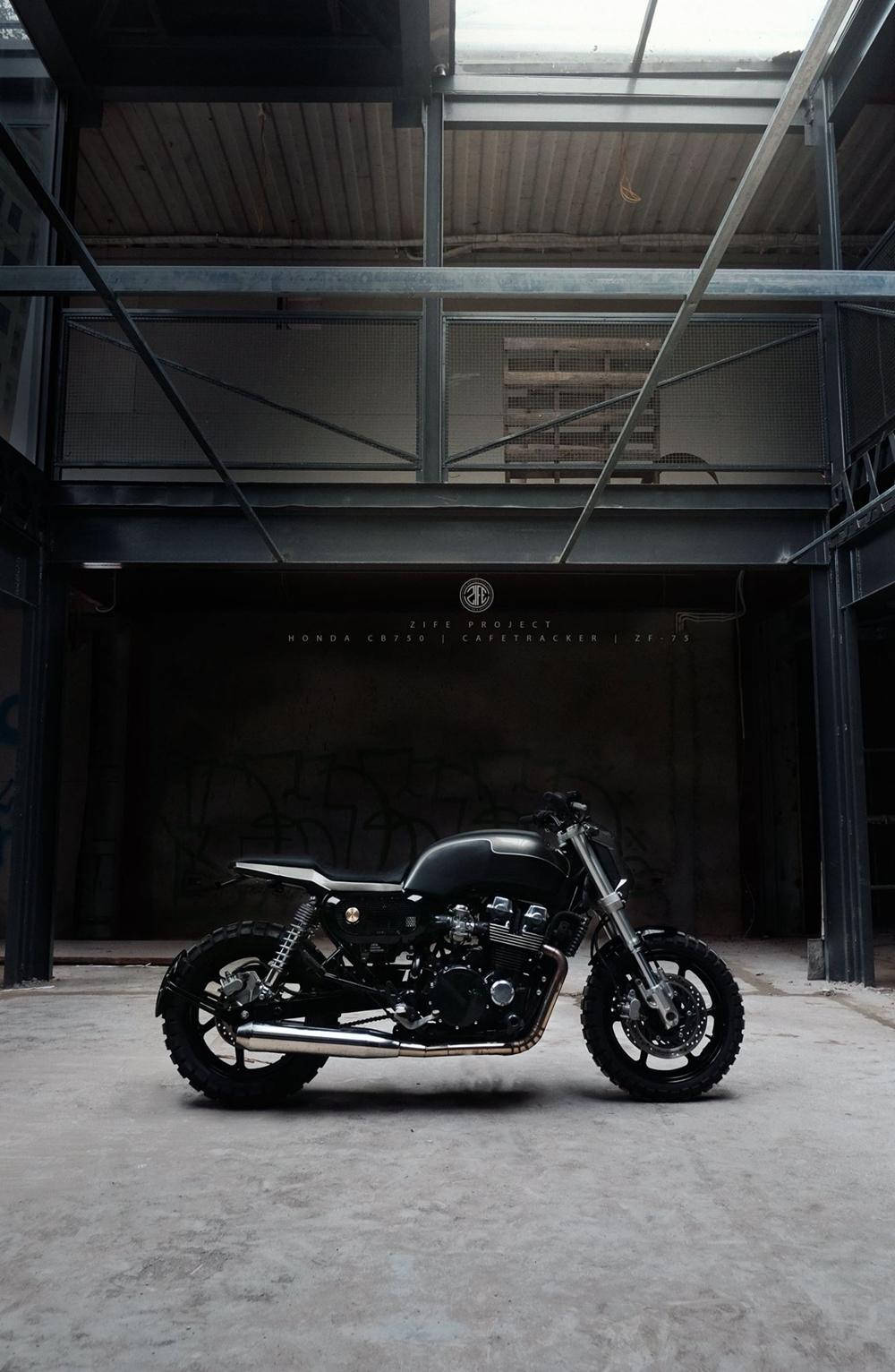 Zife Moto: стрит-трекер Honda CB750