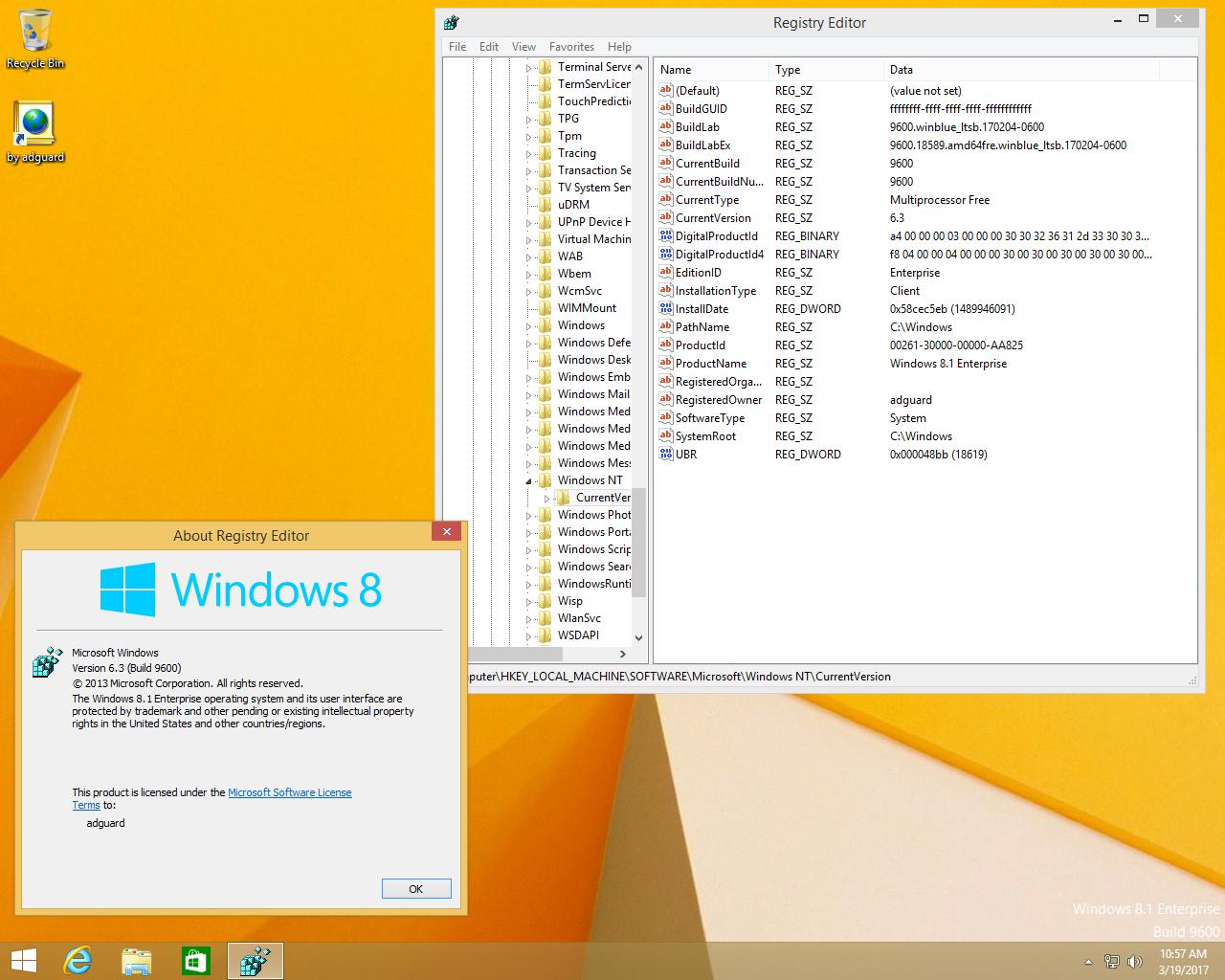 Window 8 1 x86