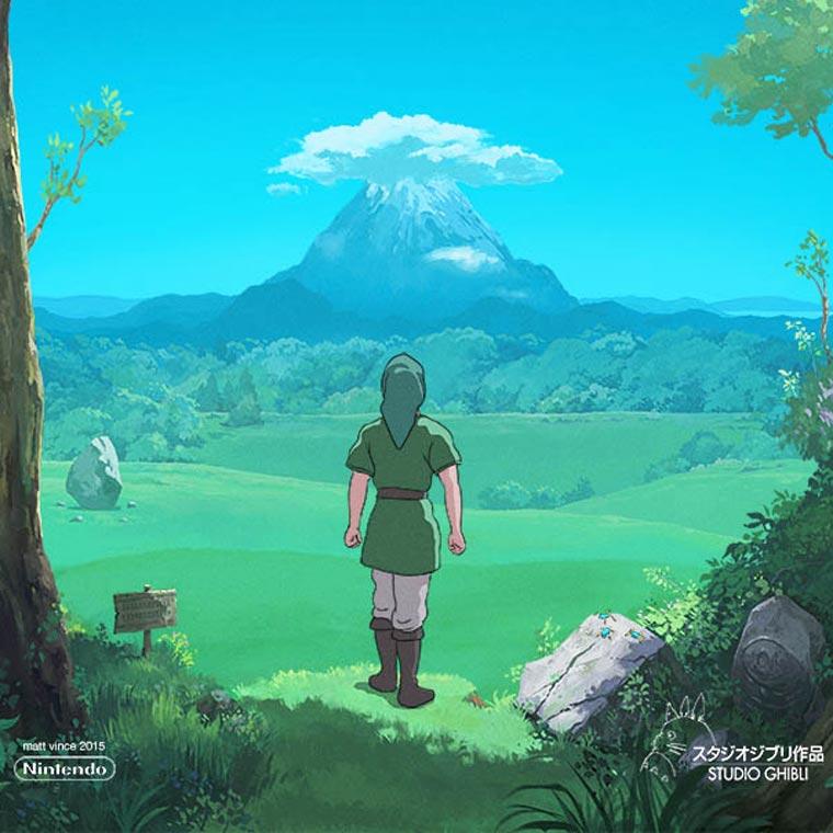 Zelda x Studio Ghibli - If Hayao Miyazaki was creating a movie for The Legend of Zelda