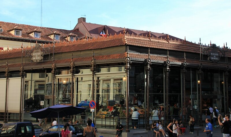 Рынок в Мадриде, Испания (The market in Madrid, Spain)