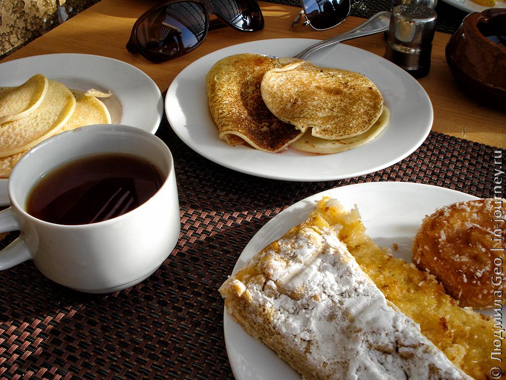 кофе и оладушки Mirage Bay