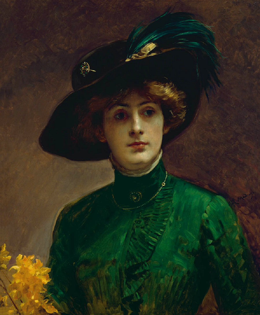 Raimundo de Madrazo y Garreta - Portrait d'une dame c 1900 10.png