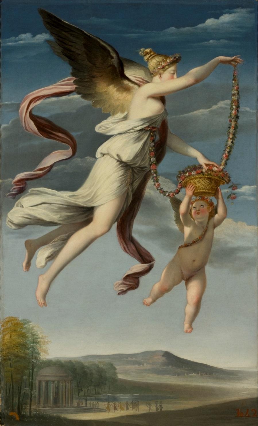 Alegoría de la Primavera. Museo Nacional del Prado jpg