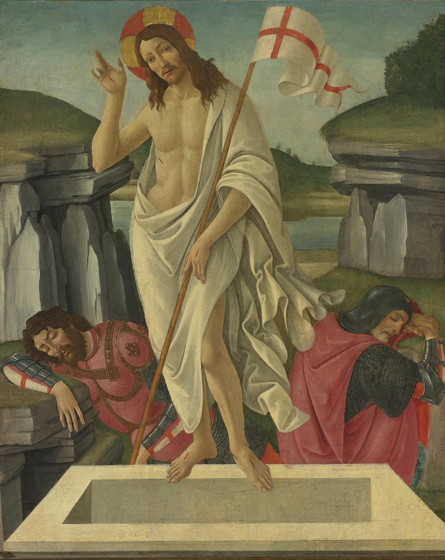 Alessandro di Mariano Filipepi, called Sandro Botticelli and Studio FLORENCE 1445 - 1510THE RESURRECTION Sotheby's