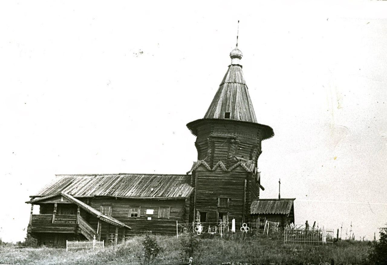 Лычный остров. Церковь Петра и Павла