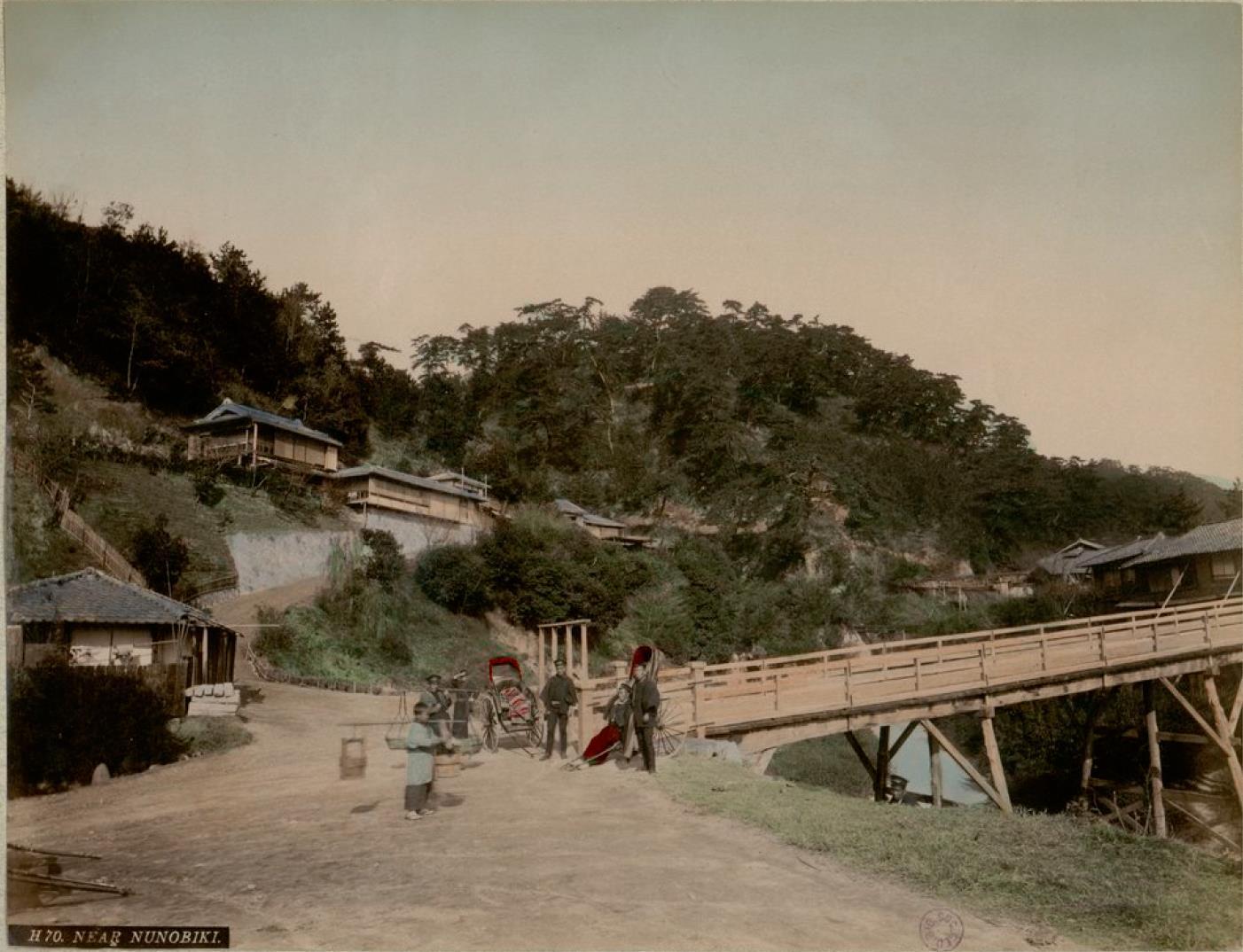 Кобе. В окрестностях водопада Нунобики