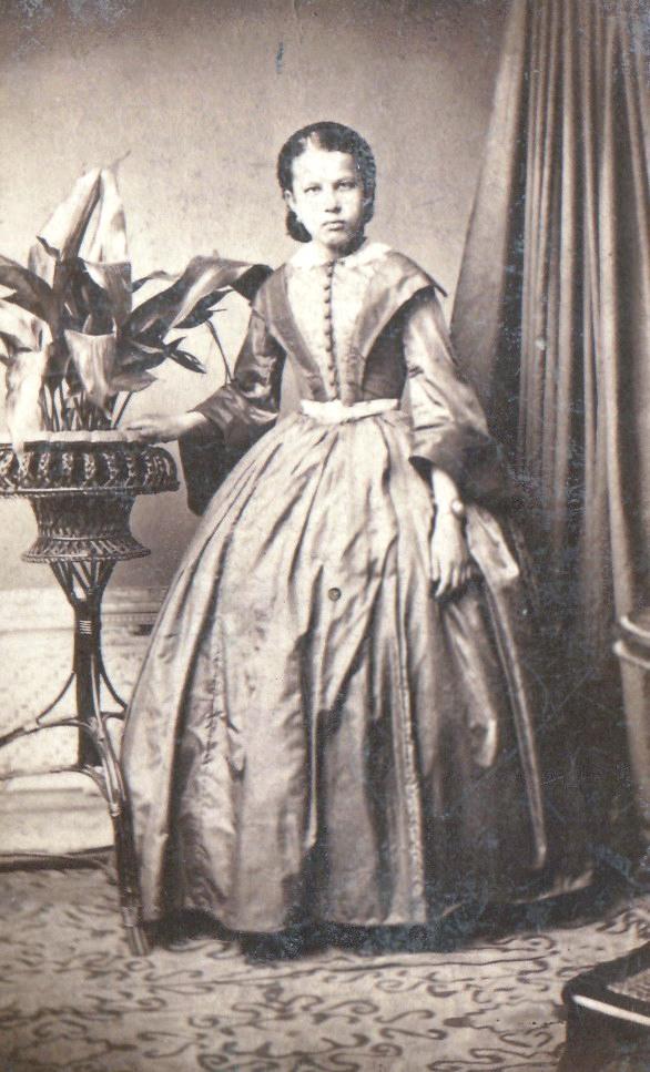 Портрет молодой женщины. 1850-1860