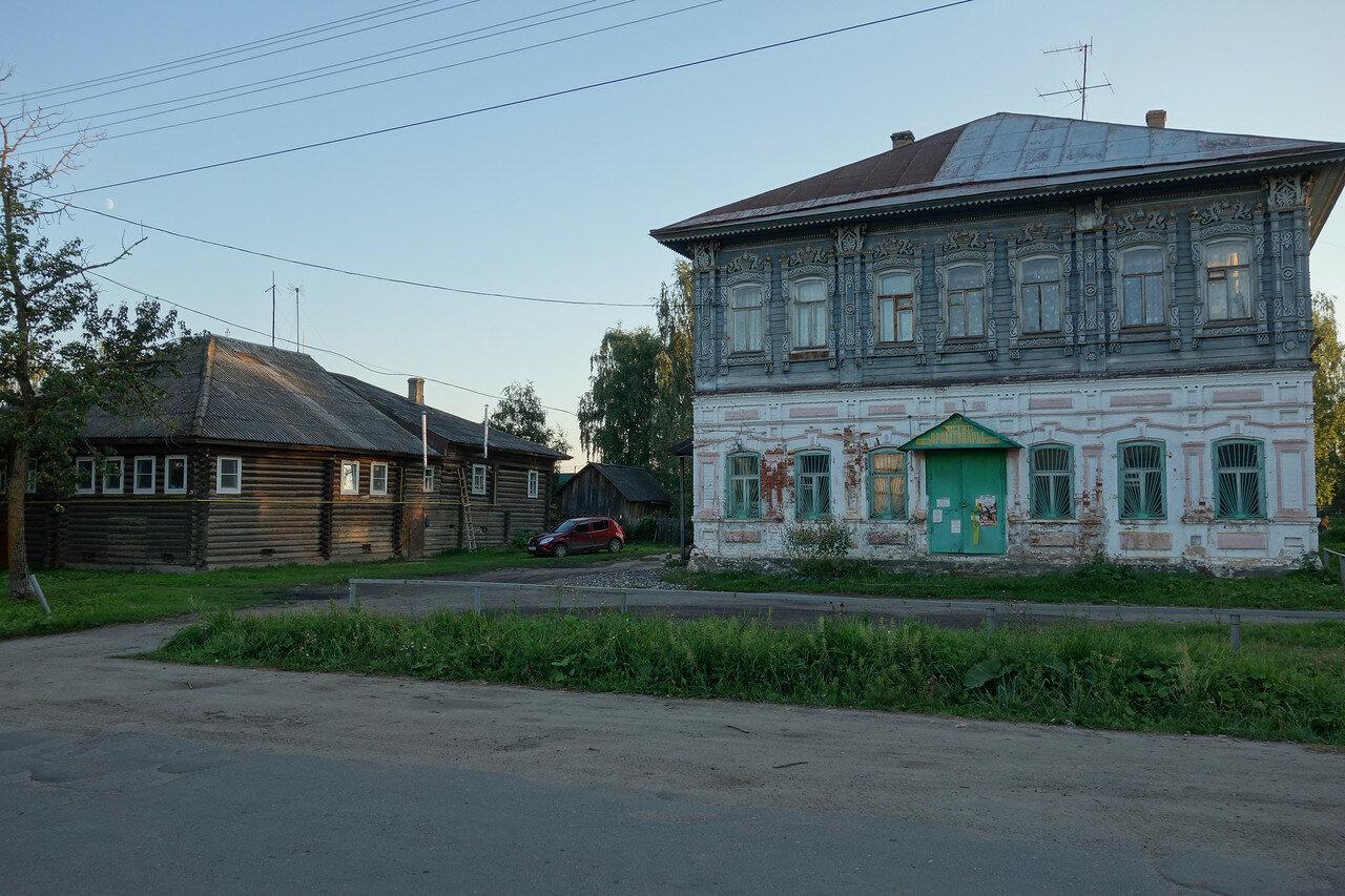 село Кубенское, наличники