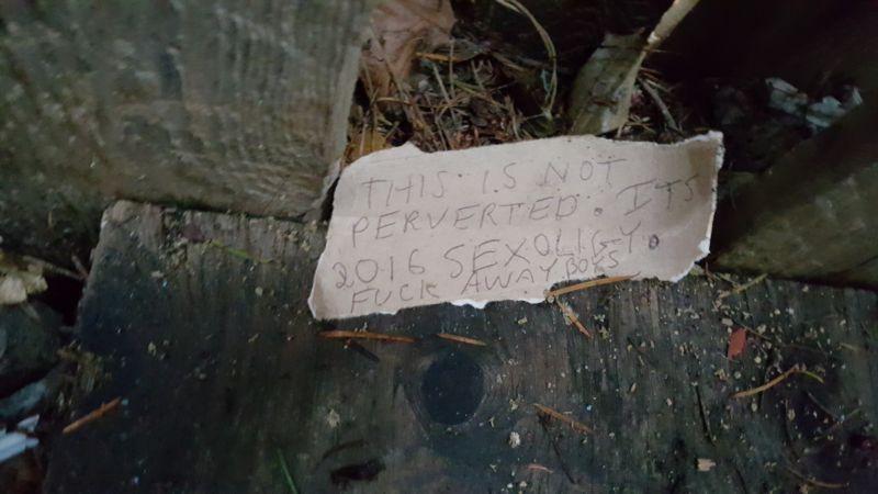 Злачное место для секса бомжей