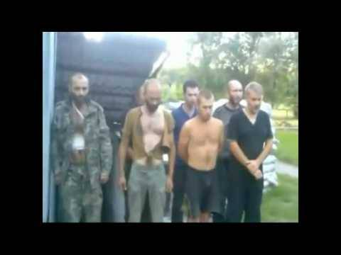 Аплодирую стоя! ВСУ заставили наемников из России попавших в плен петь Гимн Украины.(видео)