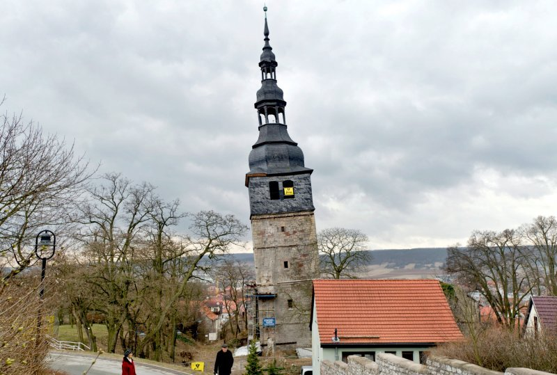 Церковь в городе Бад-Франкенхаузен-Кифхойзер
