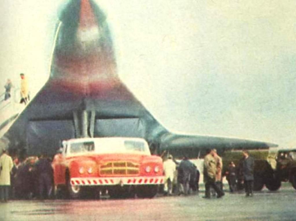 Самый большой седан в мире из СССР