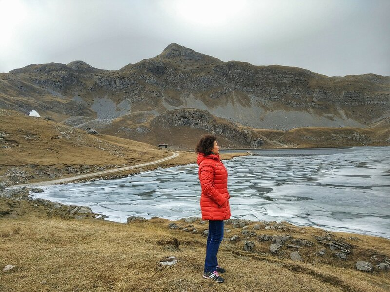 Дорога на Капетаново озеро (Черногория)