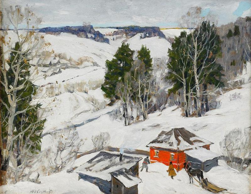 1910s_Issupoff_Winter Зимний пейзаж.jpg