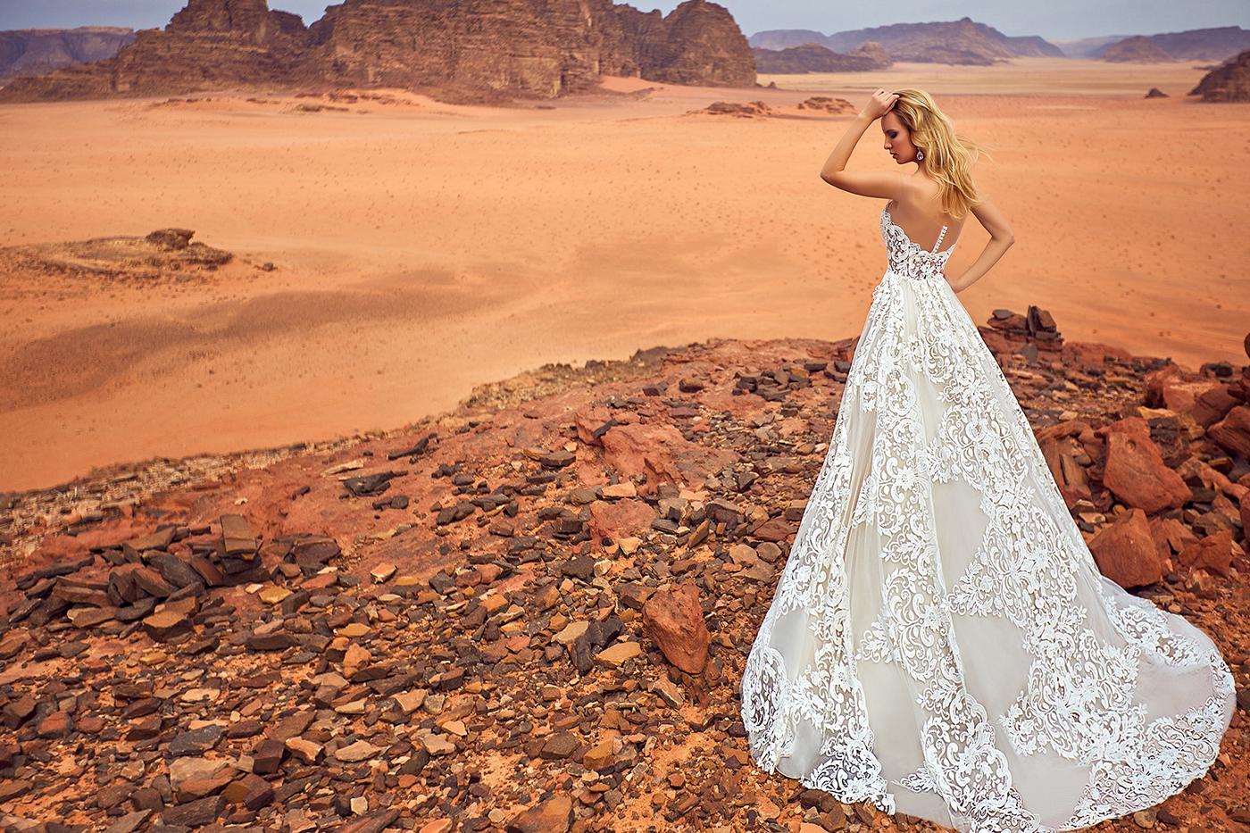 Коллекция свадебных платьев Оксана Муха Oksana Mukha / фотограф Ярослав Мончак