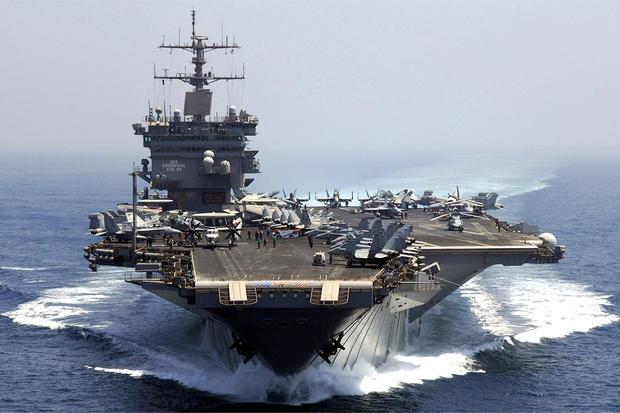 АР: Трамп хочет  значительно  увеличить мощь американского флота