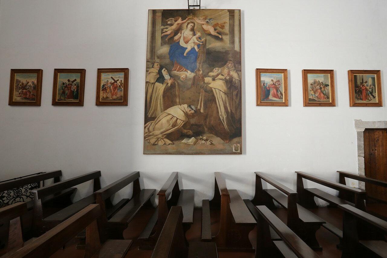Taormina. Church of St. Catherine of Alexandria (Chiesa di Santa Caterina d'alessandria)
