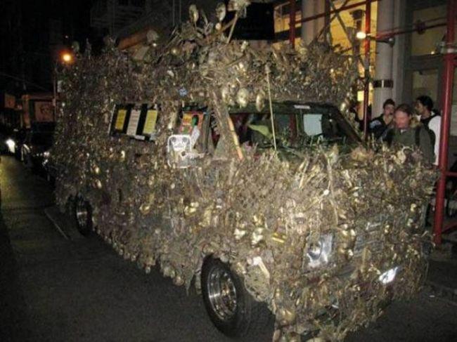 Очень странные и необычные автомобили