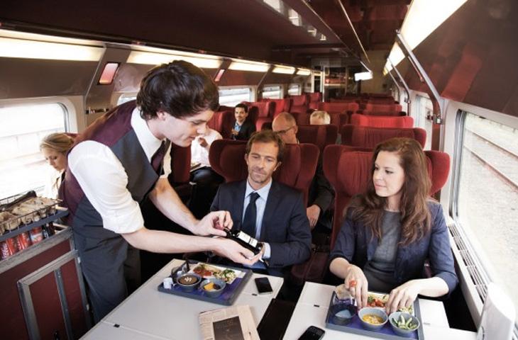8. Thalys, Франция Купив билет на фирменный скоростной поезд, курсирующий между Парижем и Кельном, Б