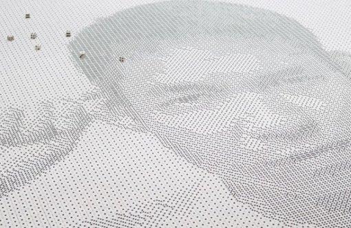 7. Портрет от Фредерика Максвайна Фредерик Максвайн уже давно получил титул мастера искусства уклады