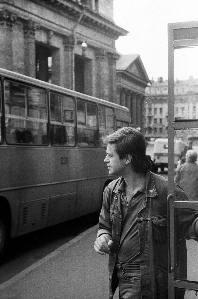 3. Борис Гребенщиков, Ленинград, 1986 год.