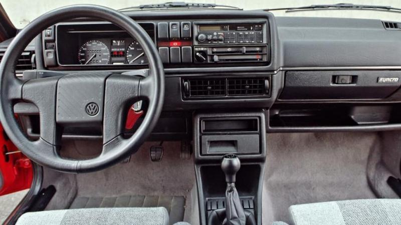 Торпедо Volkswagen Golf Country '1990–1991 Самая редкая из них – 140-сильный Count