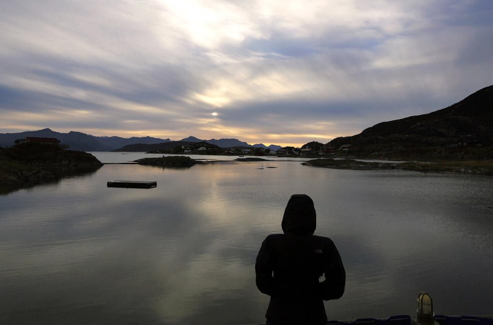 13. Северное сияние в Норвегии, 30 сентября 2014.