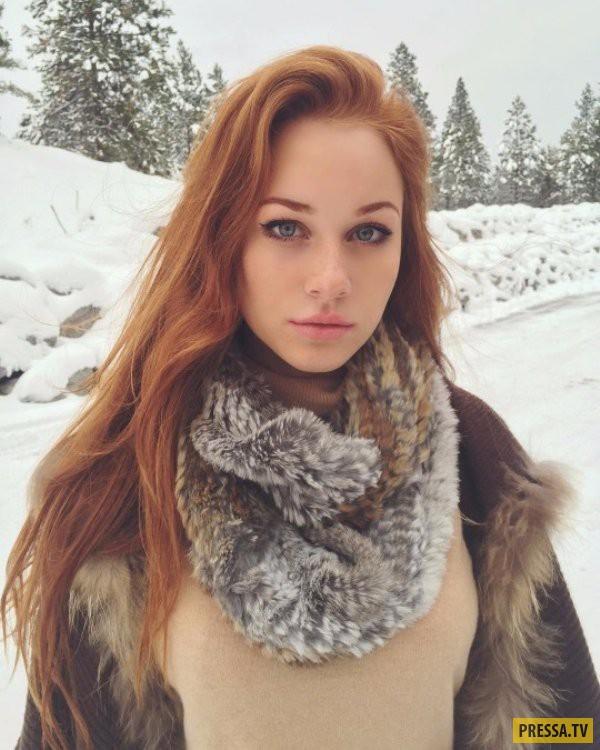 Селфи красивых девушек