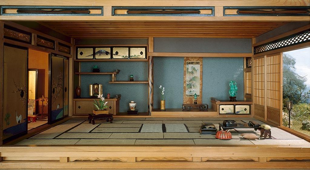 Типичный японский интерьер.