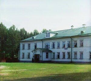 Игуменский корпус. Леушинский монастырь. 1909 год